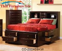 Kw = California King Storage Bed by Coaster Furniture