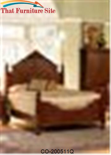 Isabella Queen Carved Bed by Coaster Furniture  | Austin
