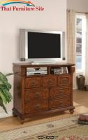 Isabella TV Dresser with Drawer Storage by Coaster Furniture