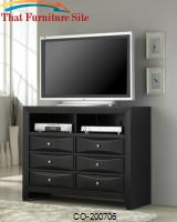 Briana Media Chest with 6 Drawers and 2 Compartments by Coaster Furniture