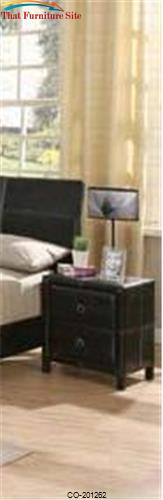 Danielle 2 Drawer Nightstand by Coaster Furniture  | Austin