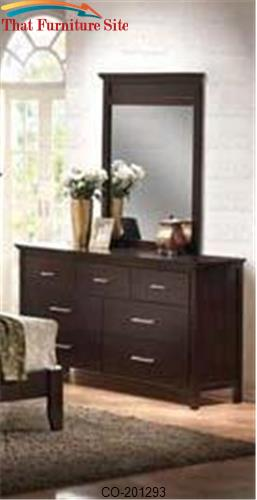 Kendra Contemporary Dresser with 7 Drawers by Coaster Furniture  | Aus