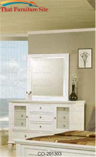 Sandy Beach Dresser with 11 Drawers by Coaster Furniture  | Austin
