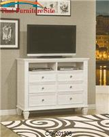 Sandy Beach Transitional Media Chest by Coaster Furniture