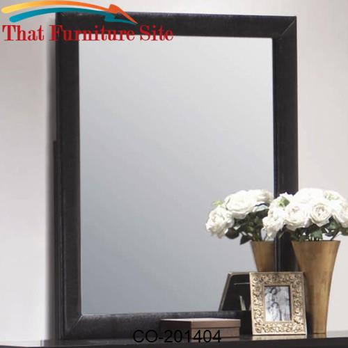 Dylan Vertical Faux Leather Dresser Mirror by Coaster Furniture  | Aus