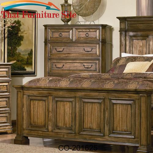 Edgewood Tall Traditional Chest with Drawers by Coaster Furniture  | A