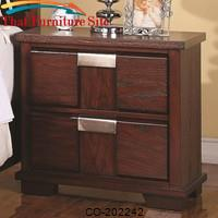 Hyland Nightstand w/ 2 Drawers by Coaster Furniture