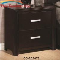 Andreas Casual Two Drawer Night Stand by Coaster Furniture