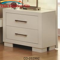 Jessica Nightstand w/ 2 Drawers by Coaster Furniture