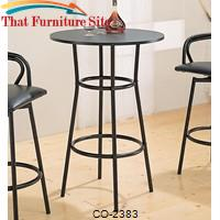 Dixie Round Bar Table by Coaster Furniture