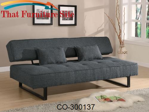 Sofa Beds Contemporary Armless Sofa Bed by Coaster Furniture  | Austin