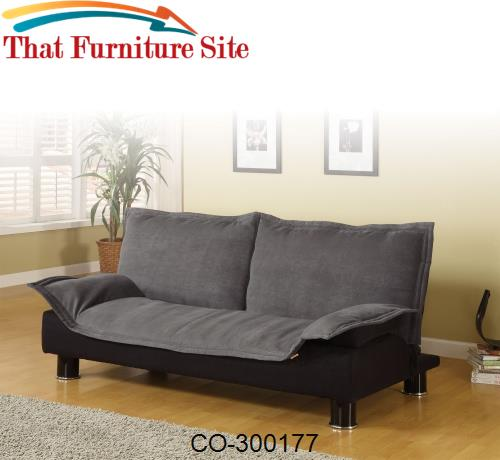 Sofa Beds Casual Convertible Sofa Bed by Coaster Furniture  | Austin