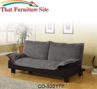 Sofa Beds Casual Convertible Sofa Bed by Coaster Furniture