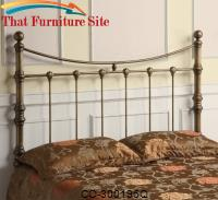 Iron Beds and Headboards Queen Iron Headboard by Coaster Furniture