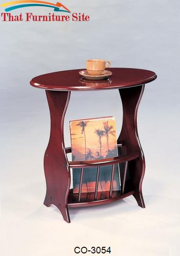 Accent Tables Magazine Storage End Table by Coaster Furniture  | Austi