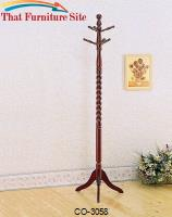 Coat Racks Coat Rack with Twisted Post by Coaster Furniture