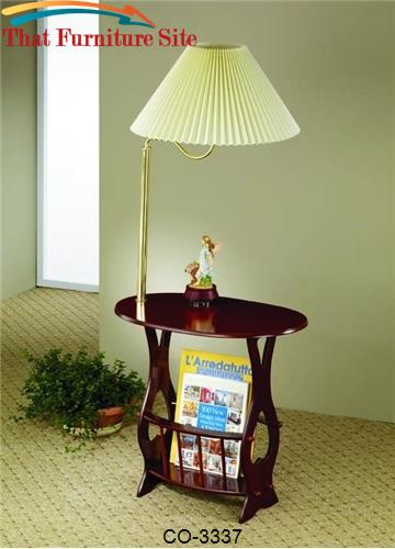 Accent tables magazine storage lamp table by coaster furniture aust aloadofball Gallery