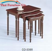 Nesting Tables 3 Piece Nesting Tables by Coaster Furniture