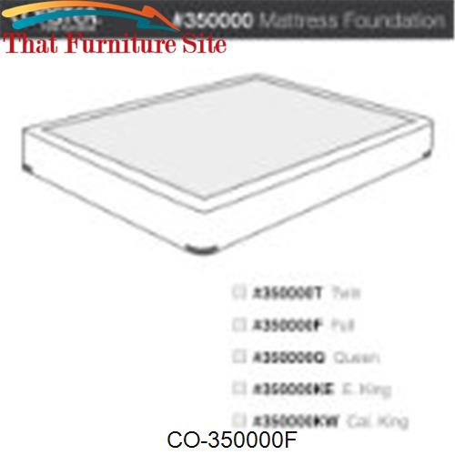 Full Mattress Foundation by Coaster Furniture  | Austin