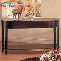 Gough Sofa Table with Shelf by Coaster Furniture