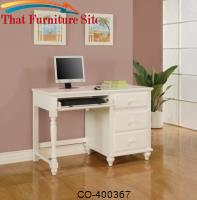 Pepper Pedestal Desk by Coaster Furniture