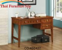 Aiden Rectangular Writing Desk with 3 Drawers by Coaster Furniture