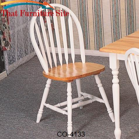 Damen Windsor Dining Side Chair by Coaster Furniture  | Austin