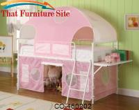 Girl Tent Bunk Bed by Coaster Furniture