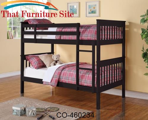 This Twin Over Twin Bunk Bed Will Make A Practical Addition To Your Ho