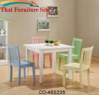 Kinzie 5 Piece Youth Table and Chair Set by Coaster Furniture