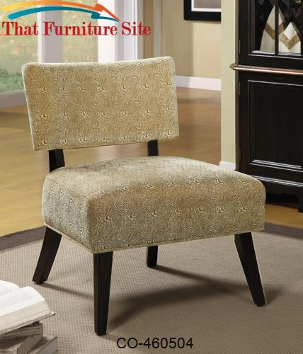Oversized Accent Chair Brown Swirl by Coaster Furniture  | Austin
