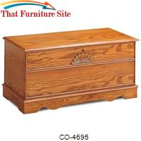 Cedar Chests Cedar Chest with Locking Lid by Coaster Furniture