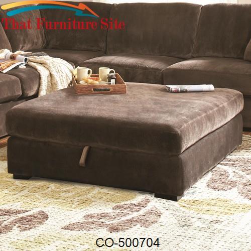 Fine Luka Cb Casual Oversized Storage Ottoman Cjindustries Chair Design For Home Cjindustriesco