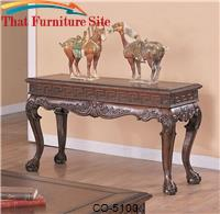 Wilshire Traditional Sofa Table by Coaster Furniture