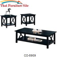 Briarcliff Casual 3 Piece Occasional Table Set by Coaster Furniture