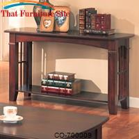Abernathy Sofa Table with Shelf by Coaster Furniture