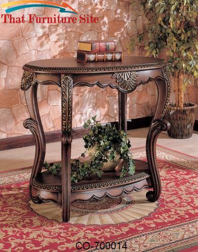 Accent Tables Oval Table By