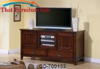 TV Stands Mission Style Media Console with Doors and Drawers by Coaster Furniture