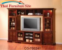 Wall Units TV Stand with Doors and Shelves by Coaster Furniture
