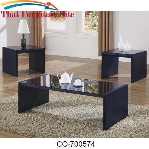 3 Piece Occasional Table Sets Contemporary 3 Piece Occasional Table Se