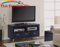 TV Stands Contemporary Media Console with Shelves and Drawers by Coaster Furniture