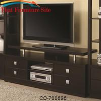 Wall Units Casual TV Console by Coaster Furniture