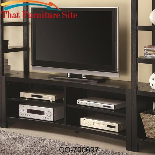 Wall Units Inverted Curved Front TV Console by Coaster Furniture  | Au