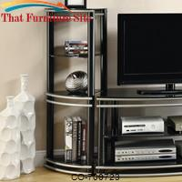Wall Units Set of 2 Corner Media Towers by Coaster Furniture