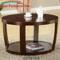 Cedar Crest Coffee Table by Coaster Furniture