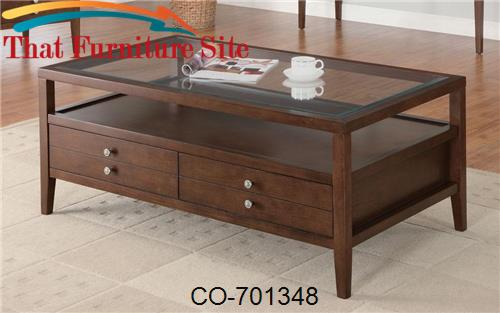 La Vista Coffee Table with Storage by Coaster Furniture  | Austin