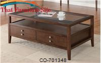 La Vista Coffee Table with Storage by Coaster Furniture