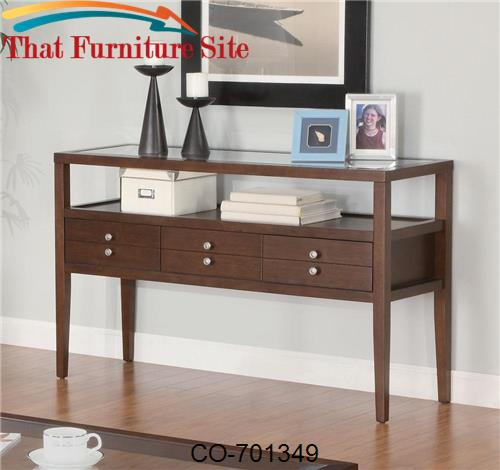 La Vista Sofa Table with Drawers by Coaster Furniture  | Austin