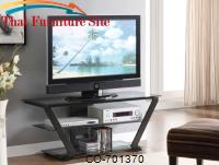 Sleek Styled TV Stand by Coaster Furniture
