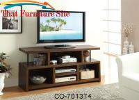 TV Stands Casual TV Console with Open Storage by Coaster Furniture
